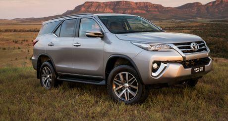 'So gang' hai chiec o to 7 cho ban chay nhat: Toyota Fortuner va Toyota Innova - Anh 1