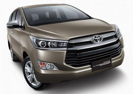 'So gang' hai chiec o to 7 cho ban chay nhat: Toyota Fortuner va Toyota Innova - Anh 2