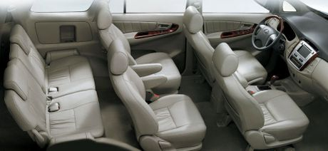 'So gang' hai chiec o to 7 cho ban chay nhat: Toyota Fortuner va Toyota Innova - Anh 4