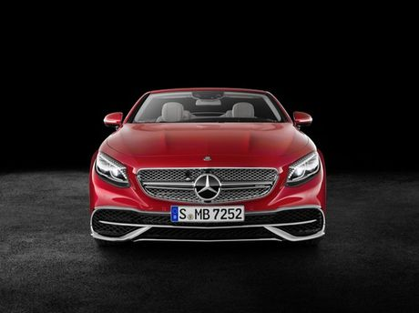 Chiem nguong sieu pham an tuong Mercedes - Maybach S650 Cabriolet - Anh 1