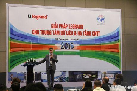 Legrand ra mat cac giai phap trung tam du lieu va ha tang CNTT tai Viet Nam - Anh 1