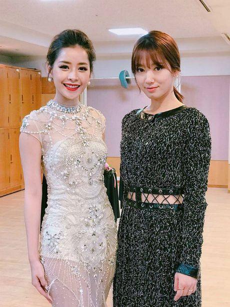Hinh anh an tuong cua sao Viet truoc showbiz Han - Anh 2