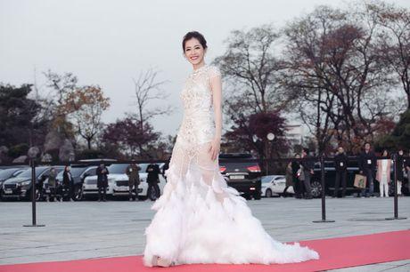 Hinh anh an tuong cua sao Viet truoc showbiz Han - Anh 8