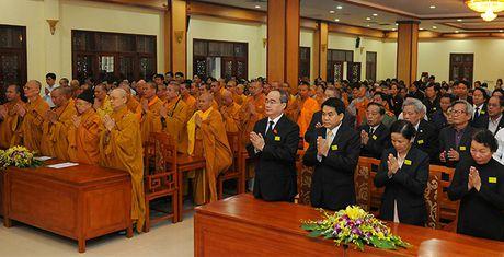 Tuong niem Pho Phap chu Giao hoi Phat giao Viet Nam Thich Chon Thien - Anh 1