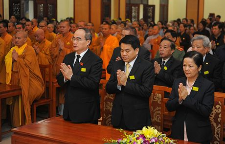 Tuong niem Pho Phap chu Giao hoi Phat giao Viet Nam Thich Chon Thien - Anh 2