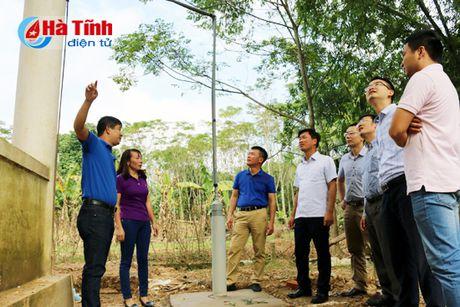 HUD ban giao hang muc cong trinh ho tro Truong MN Phuong My - Anh 1