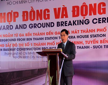 Dong tho nha ga ngam Metro trung tam Ben Thanh - Anh 2