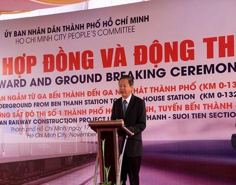 Dong tho nha ga ngam Metro trung tam Ben Thanh - Anh 3
