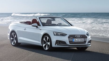 Ven man Audi A5 Cabriolet the he moi - Anh 1