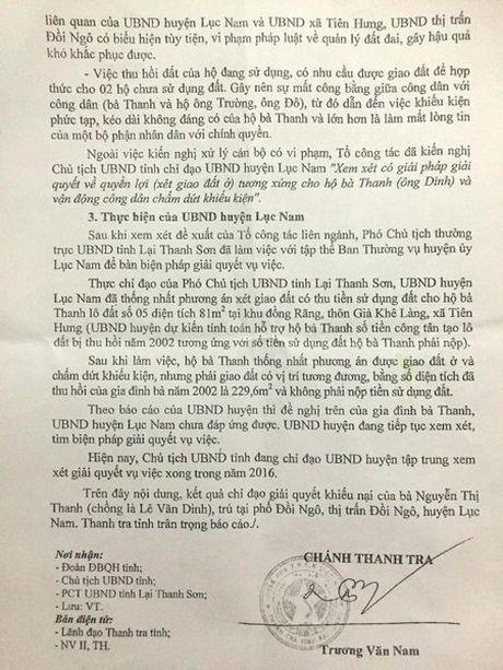 Vu thuong binh nang hon 20 nam doi dat: Huyen Luc Nam khong nhan trach nhiem - Anh 3