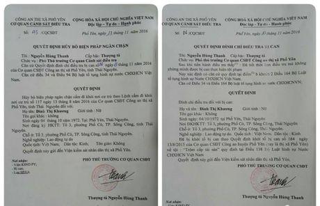 Thai Nguyen: Them mot vu an co dau hieu oan sai bi dinh chi - Anh 1