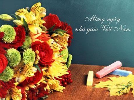 Thi truong hoa va qua tang 20/11: Qua tang handmade day y nghia tang thay co - Anh 1