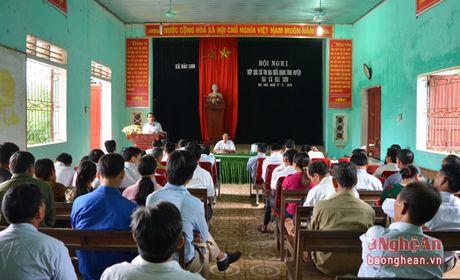 Pho Chu tich HDND tinh Hoang Viet Duong tiep xuc cu tri Do Luong - Anh 1