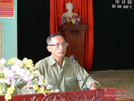 Pho Chu tich HDND tinh Hoang Viet Duong tiep xuc cu tri Do Luong - Anh 3