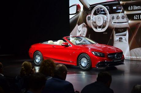 Can canh ve dep me hoac cua Mercedes-Maybach S650 Cabriolet - Anh 1