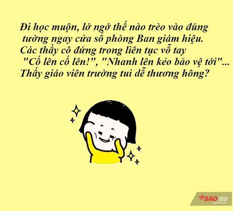 Nhung tinh huong kho do giua hoc sinh va thay co khien ban 'cuoi ra nuoc mat' - Anh 3