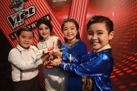 Nhat Minh - Milana: Cap doi 'de cung' nhat The Voice Kids nam nay - Anh 11