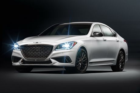 Genesis G80 co them phien ban the thao - Anh 1