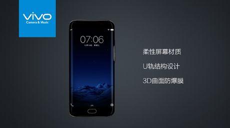 Vivo Xplay 6: Smartphone man hinh cong nhai Galaxy S7 Edge - Anh 1