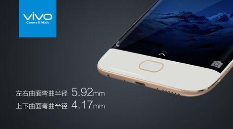 Vivo Xplay 6: Smartphone man hinh cong nhai Galaxy S7 Edge - Anh 3