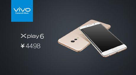 Vivo Xplay 6: Smartphone man hinh cong nhai Galaxy S7 Edge - Anh 4