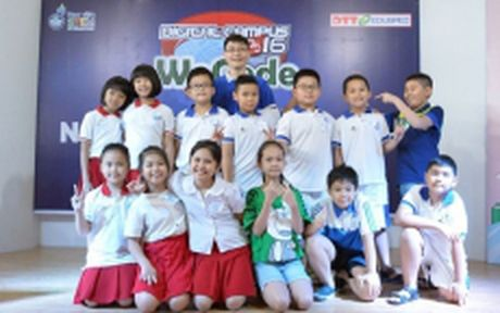 28 hoc sinh Viet Nam thi lap trinh tai Indonesia - Anh 1