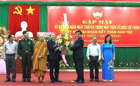 Binh Dinh: Ky niem 86 nam Ngay truyen thong MTTQ Viet Nam - Anh 1