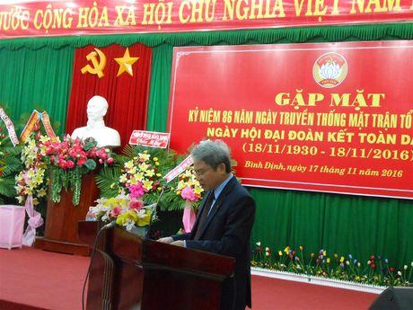 Binh Dinh: Ky niem 86 nam Ngay truyen thong MTTQ Viet Nam - Anh 2