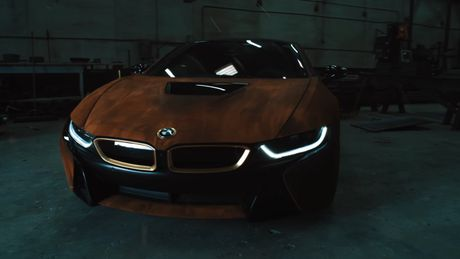 BMW i8 do dan ao ri set cua ca si Austin Mahone - Anh 5