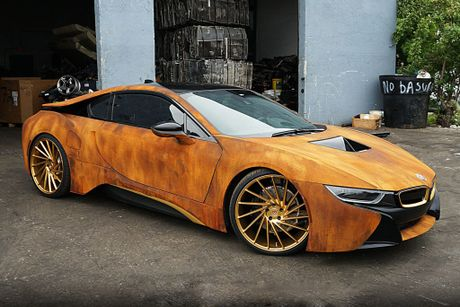 BMW i8 do dan ao ri set cua ca si Austin Mahone - Anh 7