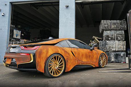 BMW i8 do dan ao ri set cua ca si Austin Mahone - Anh 8