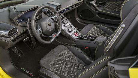 Lamborghini Huracan cau sau mui tran ra mat o My - Anh 5