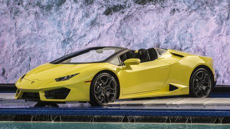 Lamborghini Huracan cau sau mui tran ra mat o My - Anh 7