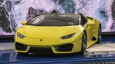 Lamborghini Huracan cau sau mui tran ra mat o My - Anh 8
