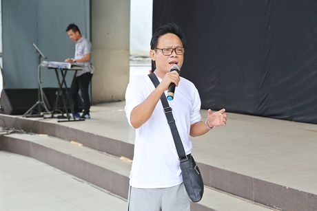 Minh Luan chuc mung sinh nhat Quy Binh trong buoi tong duyet - Anh 7