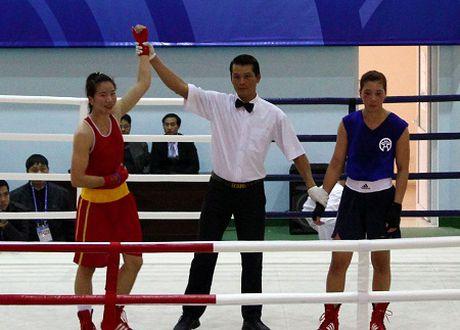 Chuyen cac nu vo si boxing Viet - Anh 1