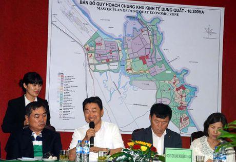 20 doanh nghiep Han Quoc den Quang Ngai tim kiem co hoi dau tu - Anh 1