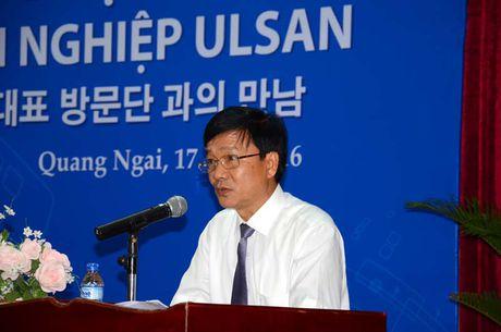 20 doanh nghiep Han Quoc den Quang Ngai tim kiem co hoi dau tu - Anh 2