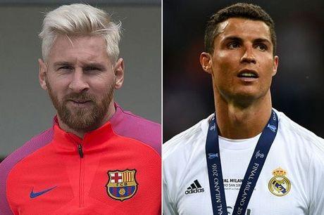 Messi va Ronaldo canh tranh giai Cau thu xuat sac nhat nam cua Globe Soccer Awards 2016 - Anh 1
