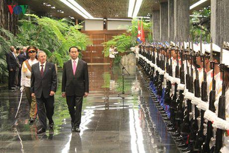 Tuyen bo chung Viet Nam – Cuba - Anh 1