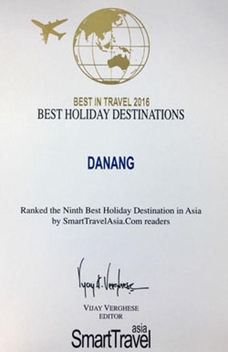 Da Nang vao TOP 10 diem den nghi duong hang dau chau A - Anh 2