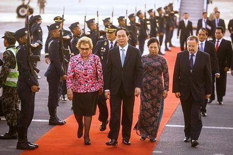 Chu tich nuoc den Peru, tham du Tuan le Cap cao APEC - Anh 1