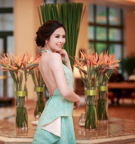 Nhung lan mac sexy, ca tinh hiem hoi cua HH Ngoc Han - Anh 6