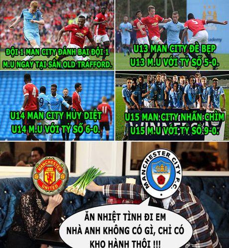 HAU TRUONG (18.11): Man City cho M.U 'an hanh', Wenger khong 'thu' Mourinho - Anh 2