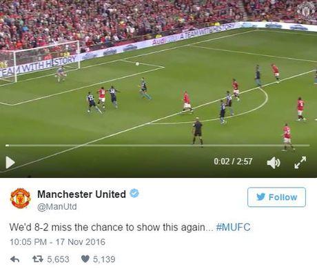 Man United troll Arsenal truoc them dai chien - Anh 1