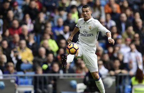 Zidane muon thu nghiem Ronaldo da nhu so 9 truoc Atletico - Anh 1