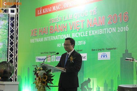 Xe dap 'len ngoi' tai Trien lam Vietnam Cycle 2016 - Anh 10