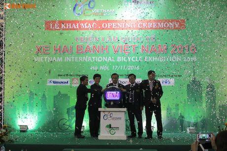 Xe dap 'len ngoi' tai Trien lam Vietnam Cycle 2016 - Anh 1