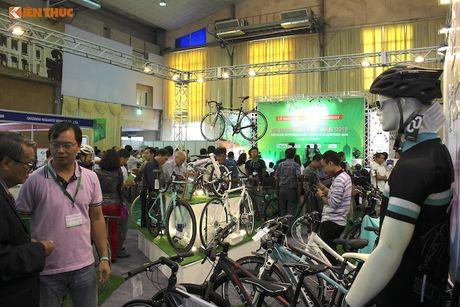 Xe dap 'len ngoi' tai Trien lam Vietnam Cycle 2016 - Anh 2