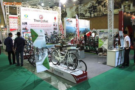 Xe dap 'len ngoi' tai Trien lam Vietnam Cycle 2016 - Anh 4